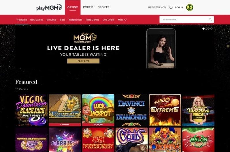 PlayMGM Casino