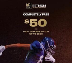 Betting at BetMGM Sportsbook