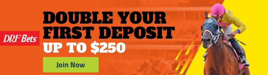 DRF Online Racebook First Deposit