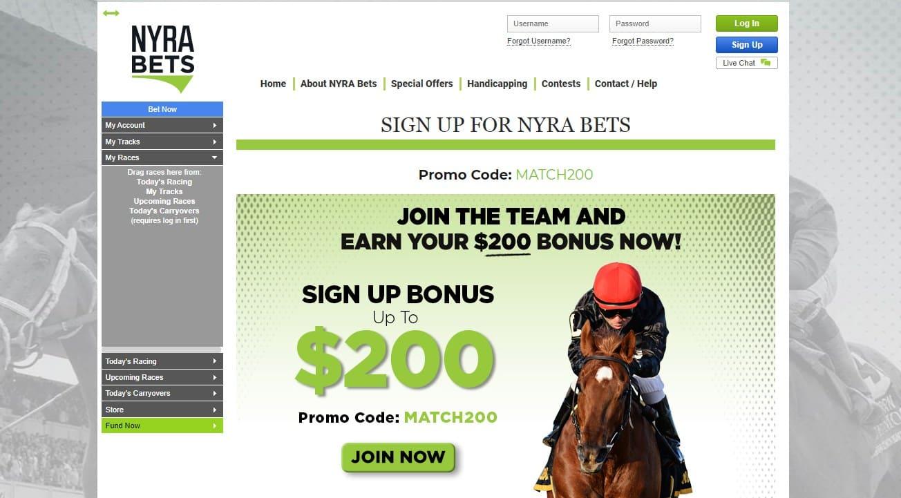 Nyra Bets Racebook